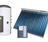 Aqua Expresso napollektor rendszer fűtésrásegítés és melegvíz ellátás