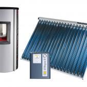 CPC/TITAN Plus AquaPack - napkollektor rendszer meglévő fűtésrendszerekhez